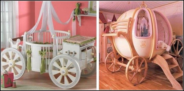Fairytale Castles For Little Princesses: PoshTots Introduces Unusual Children's Beds