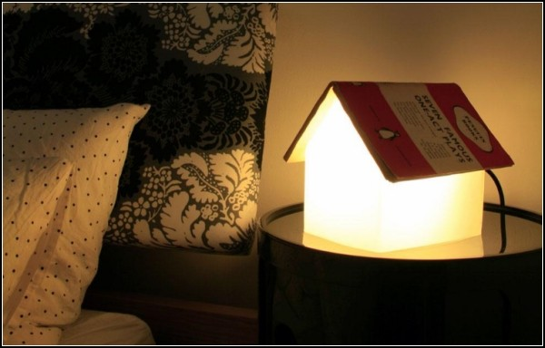 BOOK REST LAMP For Fans To Read Before Bedtime
