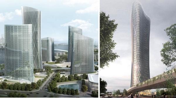 Henn Architekten Represents Central Business District Wenzhou Project