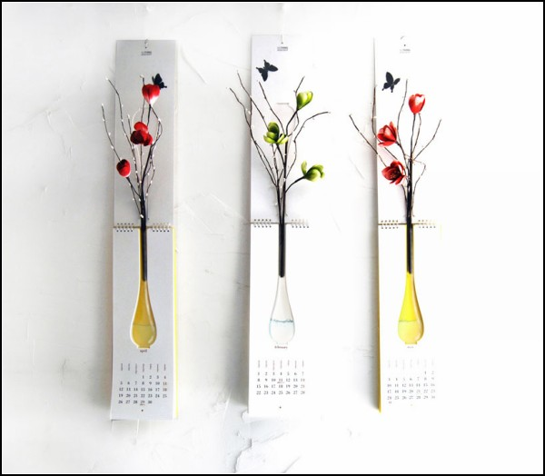 33 Nothing Design Group Introduces Calendar Vase Project