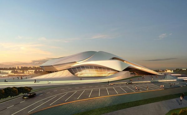 Zaha Hadid and Her Cultural Center