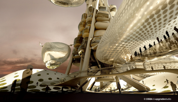 Mega-Futuristic Project-Winner Of The Architectural Competition in Taiwan