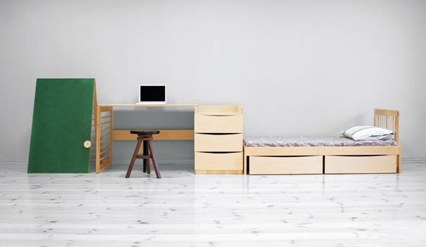 Wooden Furniture For Child's Bedroom