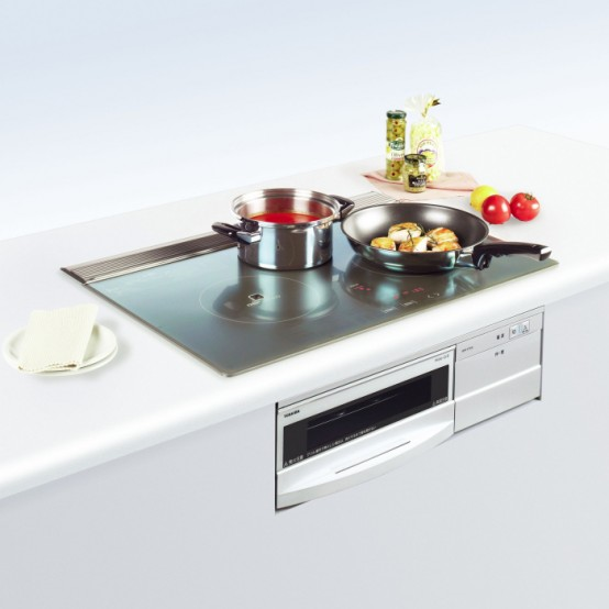 Toshiba Introduces Built-In Stove With A Grill Of IH Series