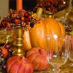 8 150x150 Table Decorations For The Day Of Thanksgiving