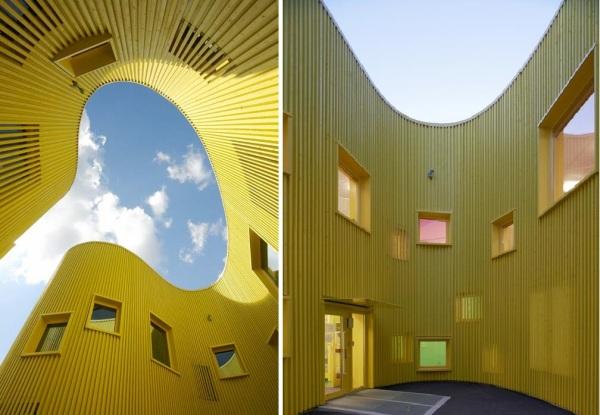 "Tham & Videgard Arkitekter Designed ""Sunny"" kindergarten"