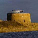 """Loft"" From The Days Of ""Napoleonic Wars"": Reconstructed Fort Martello Tower Y"