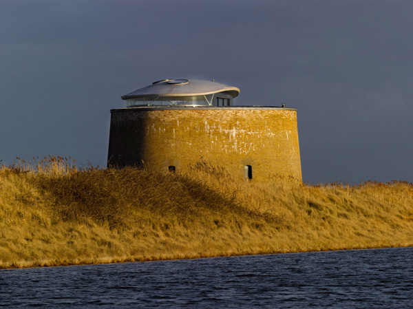 117 Loft From The Days Of Napoleonic Wars: Reconstructed Fort Martello Tower Y