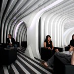"Inexpensive And Very ""Striped"": 3GATTI Architecture Studio Represents Cocktail bar ZeBar"