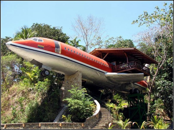 23 Unusual Hotel Costa Verde From An Old Boeing 727