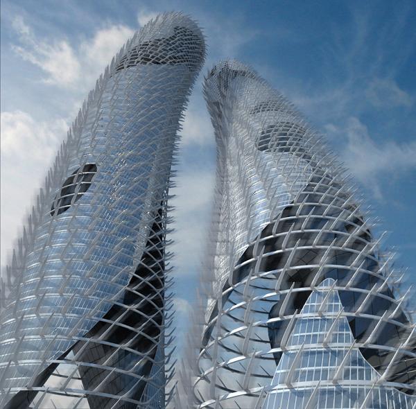 "27 Italian Architects Bring ""Tornado"""