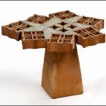 Decorative Furniture Cobogo From The Same Ceramic Bricks