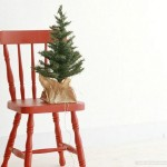 Create New Year Chair Decor Yourself