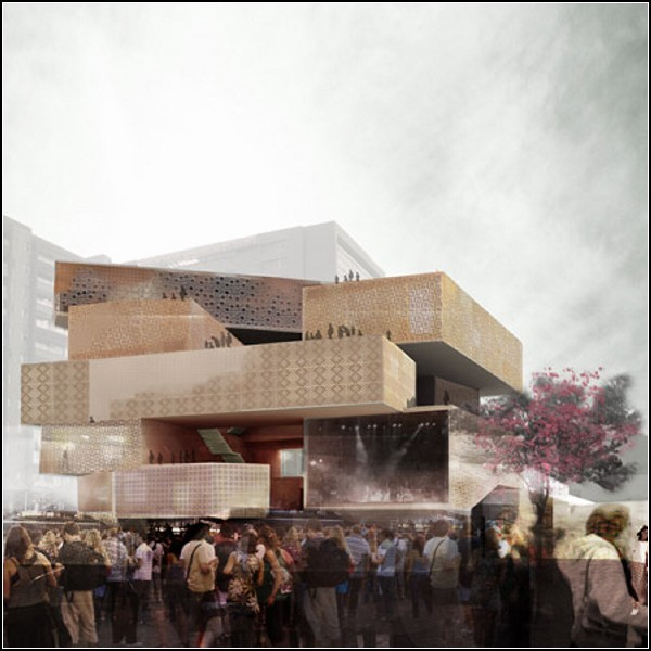 Modern Art Museum Designed For Colombian City Medellin