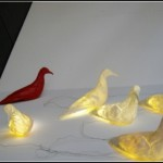 Birds On The Wire: Peta Ruhland Launches Strange Lamp Called Gary Lamp  