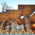 Eco Architecture – Japanese Restaurant From Bamboo