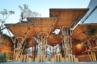 414 Eco Architecture – Japanese Restaurant From Bamboo