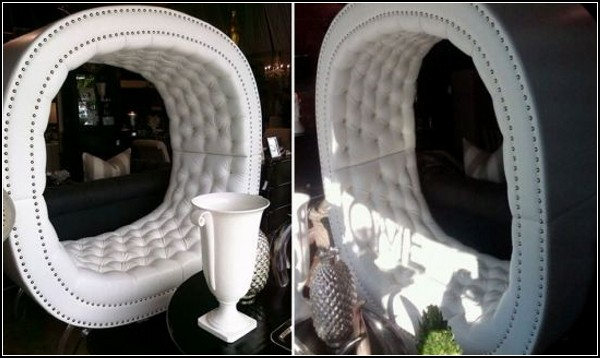 Glamorous Bench Called Globe Bench For Elite Houses Designed By Dana Solomon
