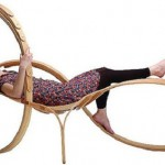 "Tom Raffield Represents ""Musical Chord"": Chaise Longue № 4"