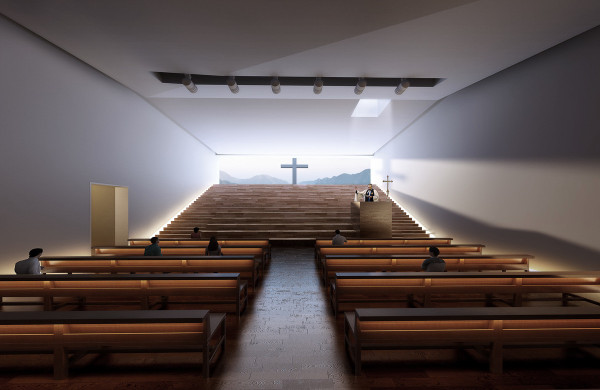 Temple That Exceeds Its Bounds: Atelier 11 Introduces Pan Long Gu Church Project