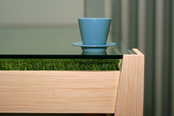710 Eco Friendly Table With Grass