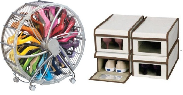 711 Creative Ideas For Shoes Storage