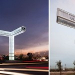 Brut Deluxe Architecture Design Comes Up With Sound System Of Road Signs Totem de.dos