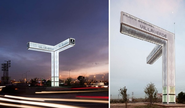 716 Brut Deluxe Architecture Design Comes Up With Sound System Of Road Signs Totem de.dos