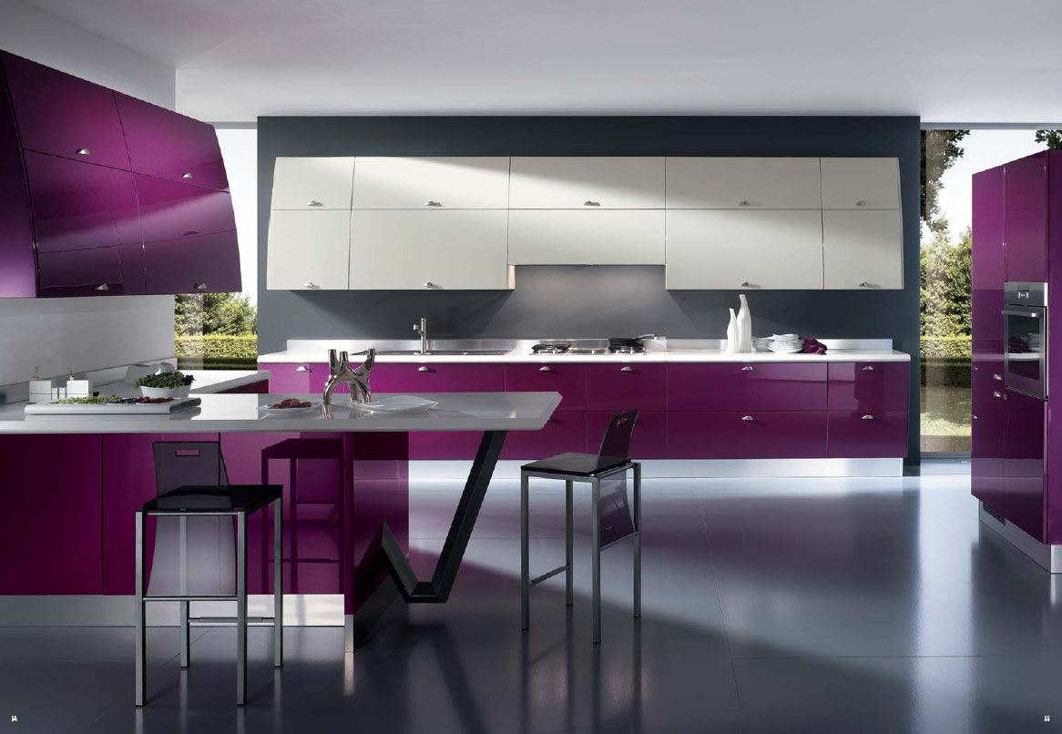 kitchen interior Ideas for designing a kitchen in modern style