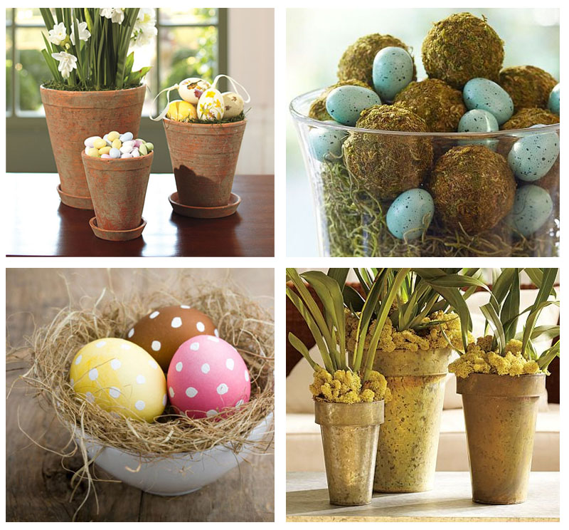 easter decorations How to decorate the house for Easter