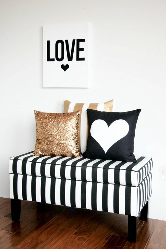 black and white Black And White Bedroom: The Basics of Classical Color Combination