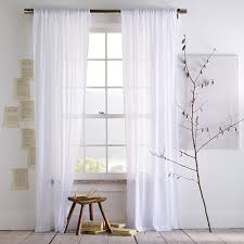 White Curtains White Curtains to Create a Special Atmosphere