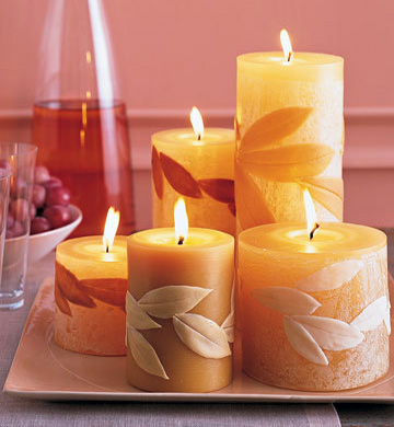 decorative candles Candles in Interior Design