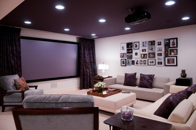 home theatre Home theater in interior