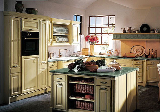kitchen interior provance Kitchen Interior in Provence Style