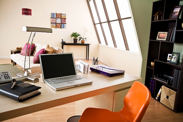 business home office design Working mood: 5 design ideas for wall decor above the working area