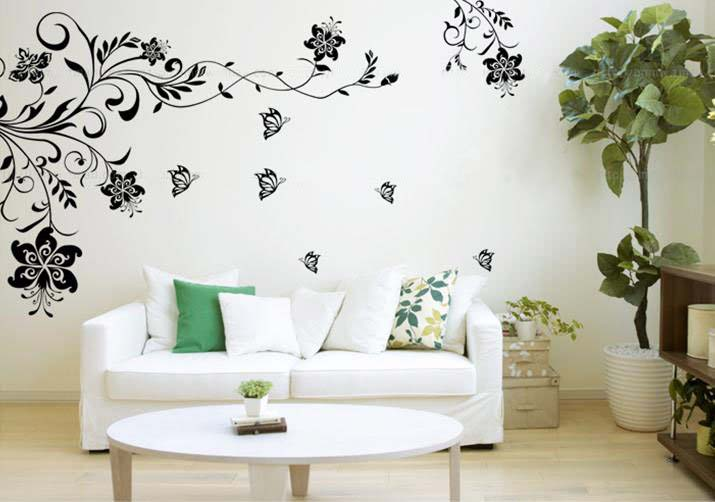 wall stickers Stickers on the wall: a simple way to make your interior more interesting