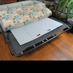 Sleeper Sofa Support Bed Mat Improvements Catalog