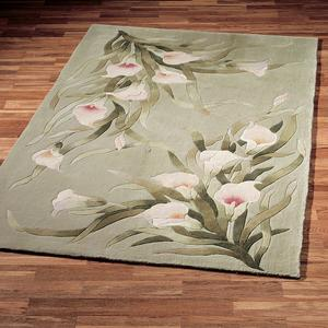 Plush Calla Lily Rugs 5 8u2033 Thick Are Hand Tufted From 100