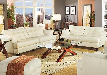 Cindy Crawford Home Avenue Pearl Leather Sofa Thecreativescientist Com