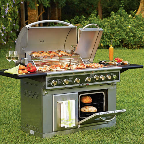 Gas Oven With Grill