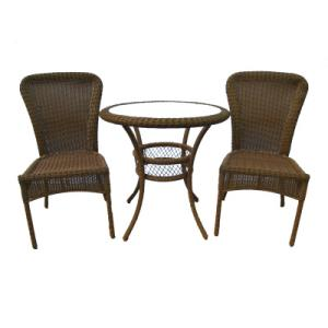 Hampton Bay Cape Cod 3 Piece Bistro Set Nutmeg