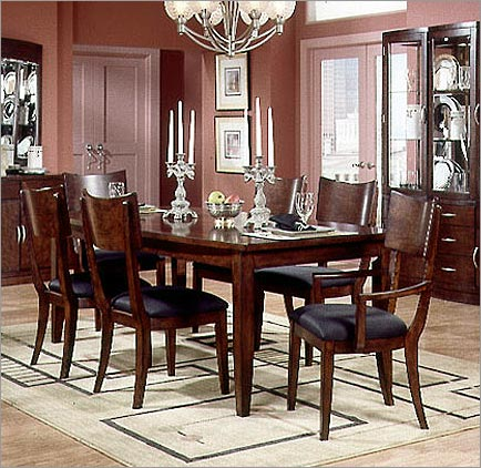 kathy ireland dining room furniture bay heights leg table with 20 leaf better home 5823